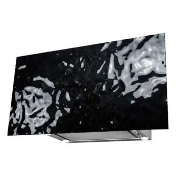 Okap kominowy Flexi Wave Black 80 cm