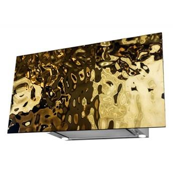 Okap kominowy Flexi Wave Gold 80 cm