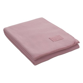 Koc welurowy Eskimo Edelvelours Dusty Pink