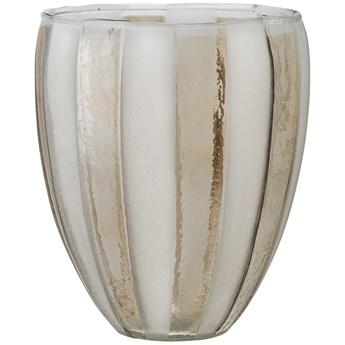 Świecznik na tealighty Jalil Ø14x17 cm biało-złoty