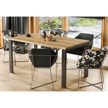 Rozkładany stół w stylu industrialnym Garant dąb riviera