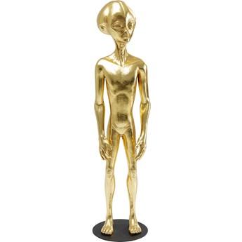 Dekoracja stojąca Alien Stuun 32x121 cm złota