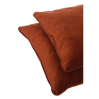 Poduszka dekoracyjna z kedrą 40x40cm ceglany