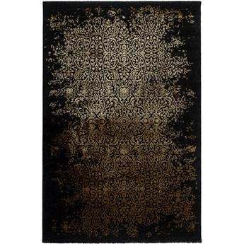 Dywan Craft Deluxe Czarny Glamour Złoty 160 x 230 cm