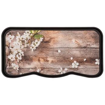 Ociekacz Drukowany Flowers & Wood 38 x 75 cm