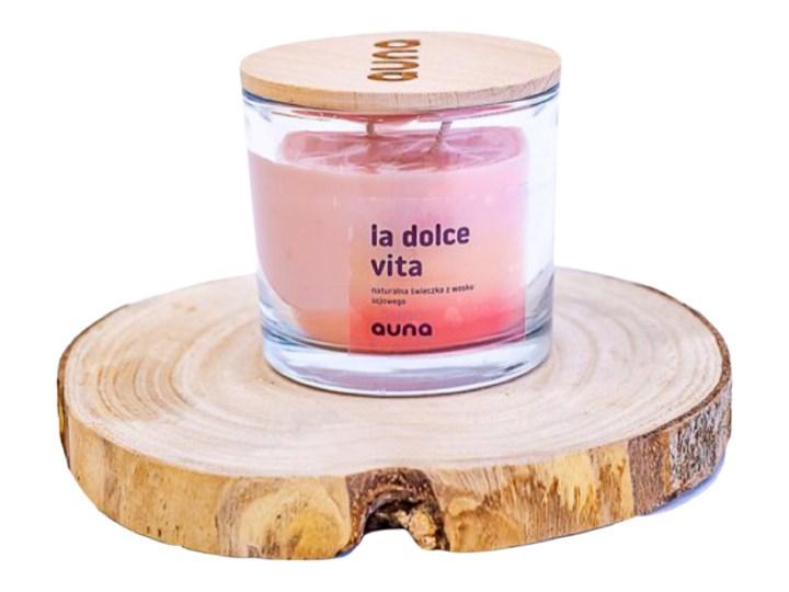 Świeczka La Dolce Vita, Auna Świeca zapachowa Drewno Świeca Kategoria Świeczniki i świece