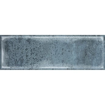 Płytka ścienna Como wall structure blue glossy 10x30 Golden Tile gat.