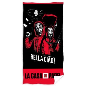 Ręcznik bawełniany La casa de papel 70x140 RDC-331