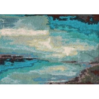 Dywan łatwoczyszczący Carpet Decor Laguna Aqua Ostatnia sztuka, zniszczone opakowanie, OUTLET