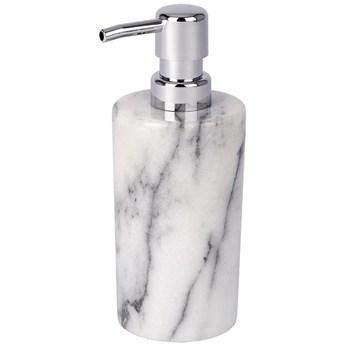 Dozownik do mydła ONYX, marmurowy podajnik na mydło w płynie, 230 ml, WENKO