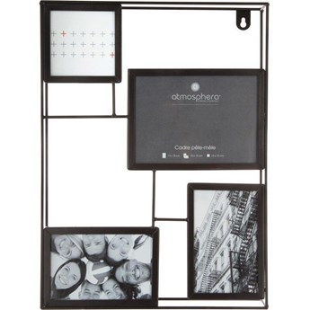Metalowa multirama na 4 zdjęcia, 30x40 cm