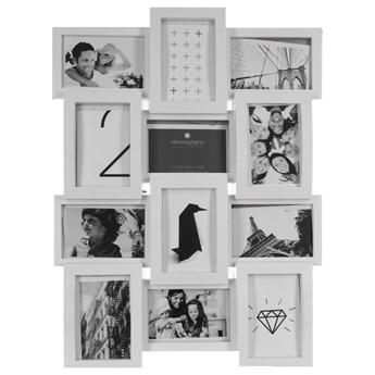 Ramki do zdjęć tworzące kompozycję, multirama