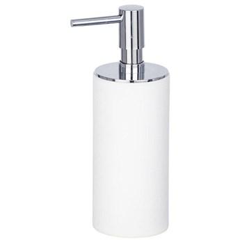 Pojemnik z polyresinu na mydło płynne, łazienkowy dozownik z pompką IDA - WENKO