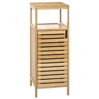 Szafka łazienkowa słupek SICELA, bambus