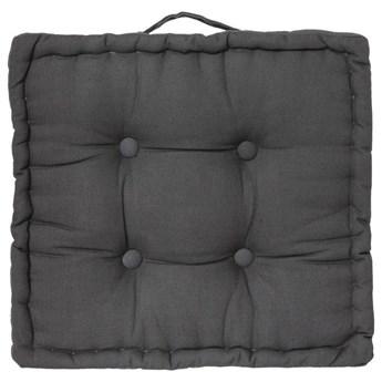 Poduszka do siedzenia na podłodze, 40x40x8 cm