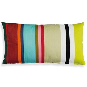 Kolorowa poduszka dekoracyjna w geometryczne wzory 30 x 60 cm, REMEMBER