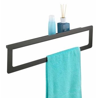 Wieszak na ręczniki MONTELLA, półka, 2w1, WENKO
