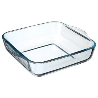 Naczynie ceramiczne do zapiekania, 22 x 22 x 6 cm, szklane