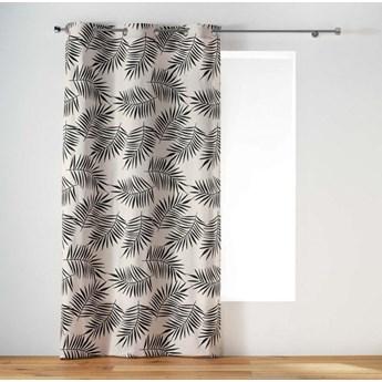 Zasłona okienna NING, 140 x 240 cm, w liście