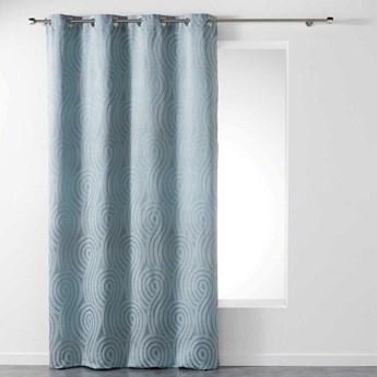 Zasłona okienna LEXI, 140 x 260 cm, szara