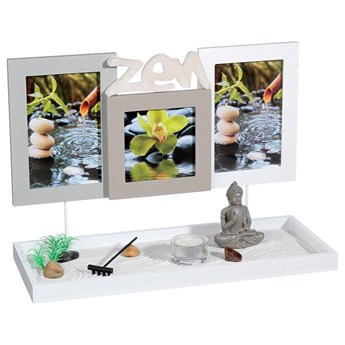 Ramka na zdjęcia OGRÓD ZEN, 35,5 x 25 x 15 cm
