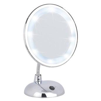 Lusterko kosmetyczne STYLE z podświetlaniem LED, powiększenie x3, WENKO