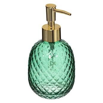 Dozownik do mydła LADY JUNGLE, Ø 8,5 cm, szkło