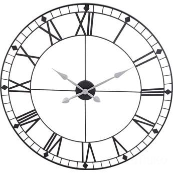 Metalowy zegar ścienny, Ø 88 cm