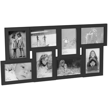 Prostokątna ramka na zdjęcia - galeria na 8 zdjęć