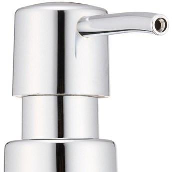 Pojemnik GOA na mydło w płynie, praktyczny dozownik łazienkowy z pompką - 210 ml, WENKO