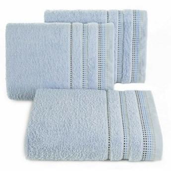 SELSEY Ręcznik bawełniany Ollechio błękitny