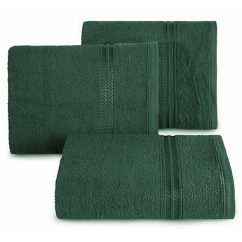 SELSEY Ręcznik bawełniany Vligo ciemnozielony
