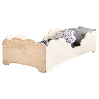SELSEY Łóżko drewniane dla dzieci Laicy w kształcie chmurki