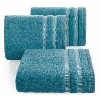SELSEY Ręcznik bawełniany Tellid turkusowy