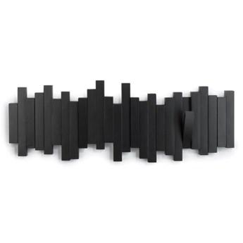 SELSEY Wieszak Sticks Multi czarny