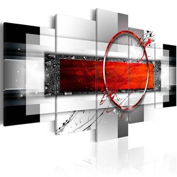 SELSEY Obraz - karminowy pocisk 100x50 cm