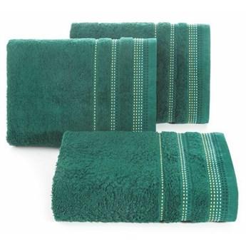 SELSEY Ręcznik bawełniany Ollechio ciemny zielony
