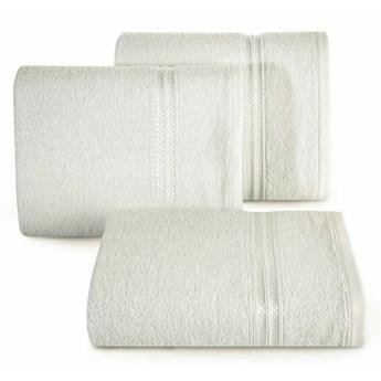 SELSEY Ręcznik bawełniany Vligo 30x50 cm kremowy