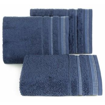 SELSEY Ręcznik bawełniany Ollechio granatowy
