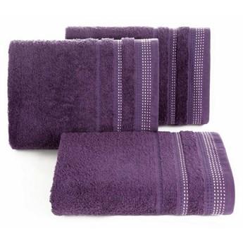 SELSEY Ręcznik bawełniany Ollechio fioletowy