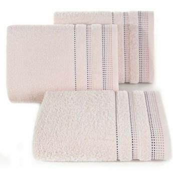 SELSEY Ręcznik bawełniany Ollechio pudrowy róż