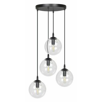 SELSEY Lampa wisząca Fregene transparentna x4