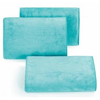 SELSEY Ręcznik z mikrofibry Laerth turkusowy
