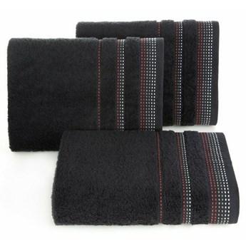 SELSEY Ręcznik bawełniany Ollechio czarny