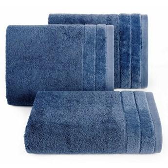 SELSEY Ręcznik bawełniany Tauler granatowy