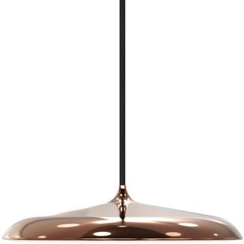 SELSEY Lampa wisząca Artist średnica 25 cm miedziana