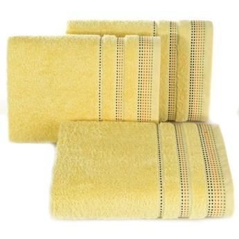 SELSEY Ręcznik bawełniany Ollechio żółty