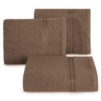 SELSEY Ręcznik bawełniany Vligo brązowy