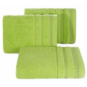 SELSEY Ręcznik bawełniany Ollechio jasny zielony