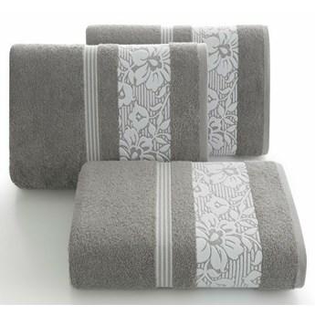 SELSEY Ręcznik bawełniany Inavel 50x90 cm stalowy